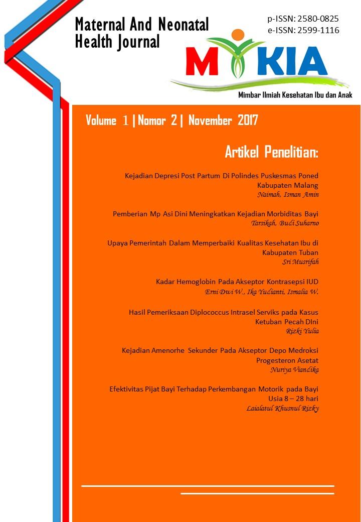 View MIKIA Volume 1 Nomor 2 November (2017)